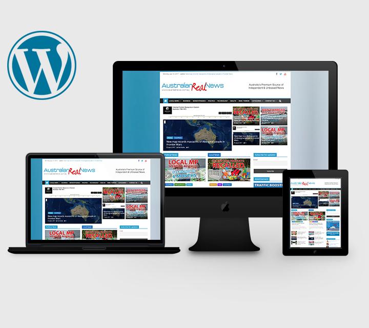 AusRealNews.com.au Website Design