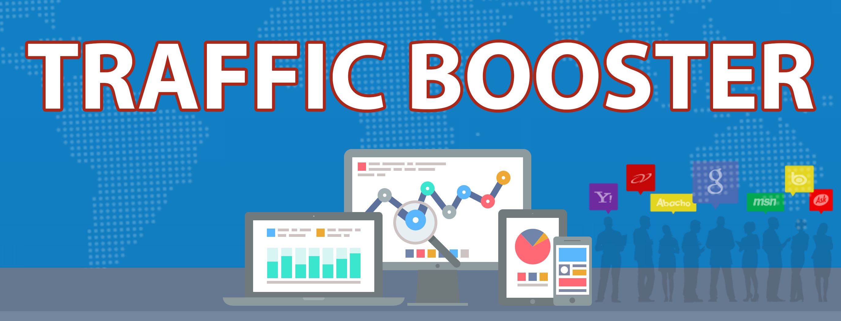Traffic Booster: Boost your search results | Clearun Marketing