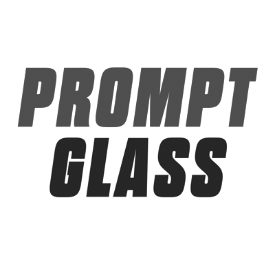 Prompt Glass Logo | Clients of Clearun Marketing